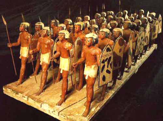 The Egyptian army was ably led at the time of Amenhotep II