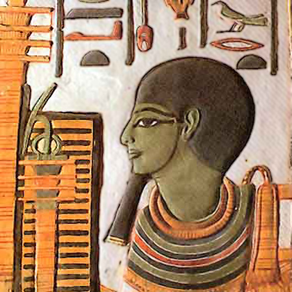 Ptah - among the high ranking gods of cultic Egyptian religion